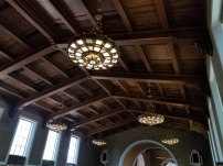 carved ceiling union station