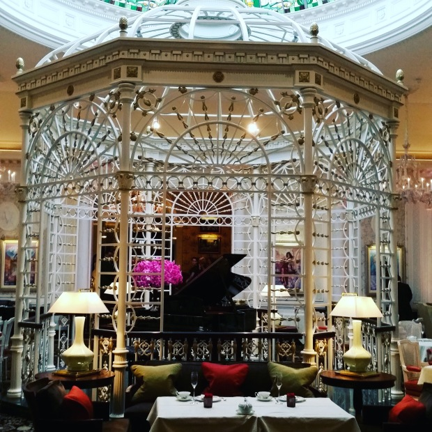 Tea room at the Savoy