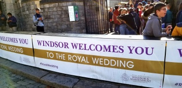 windsor royal wedding barrier