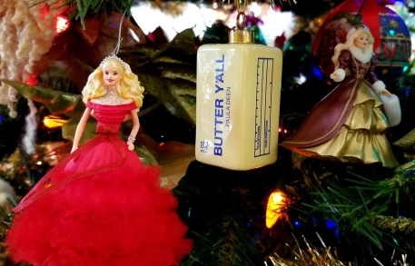 xmas barbies and butter