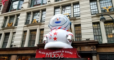 xmas macy snowman