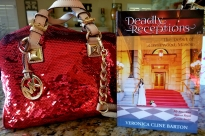 books in handbag deadly receptions