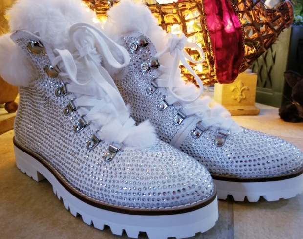 bling snow boots