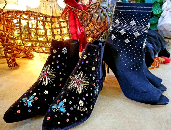blingy boots
