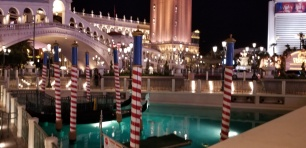 LV night gondolas at venetian bay