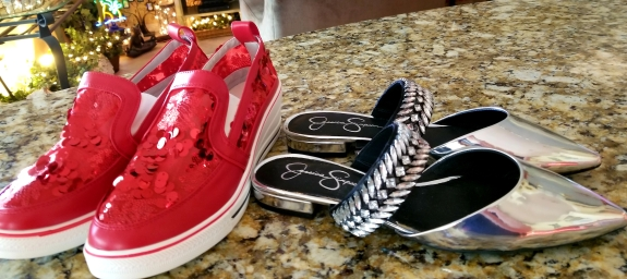 summer bling shoes