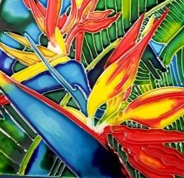 bird of paradise catalina tile