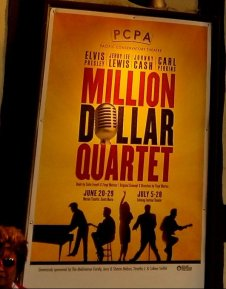 million dollar quartet poster solvang