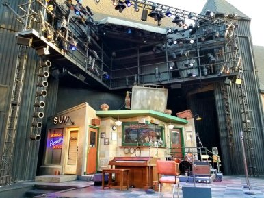 solvng million dollar quartet stage