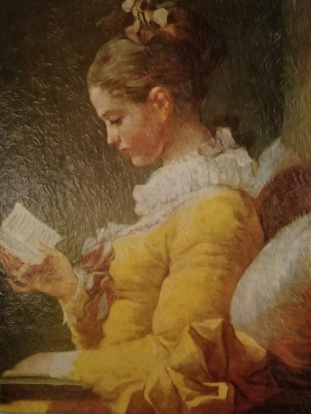 a young girl reading fragonard 1771