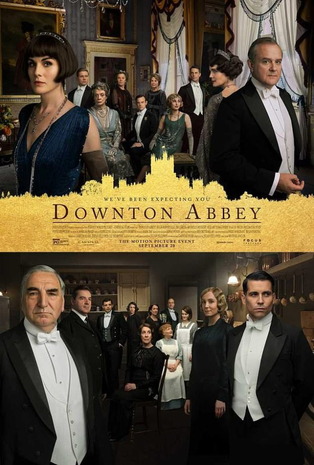 downton abbey movie cast poster