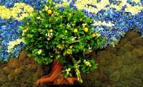 lemon art flowers bellagio2