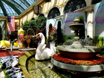 swan bellagio conservatory