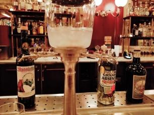 absinthe fountain bouchon venezia