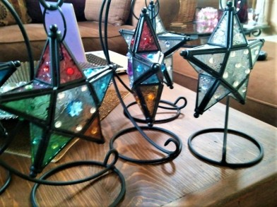 twinkle bling hanging stars