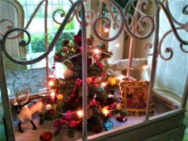xmas tree twinkle bling birdcage