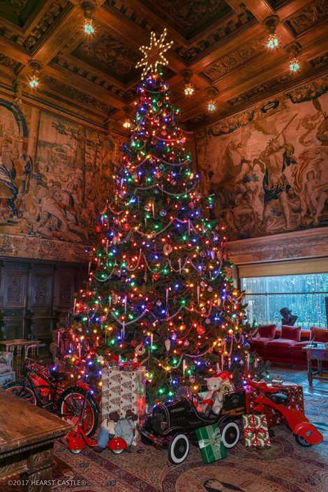 hearst castle holiday twilight tour