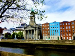 dublin methodist church across river liffey