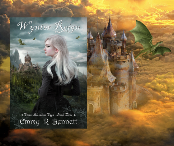 Wynter Reign dragon & castle Emmy Bennet