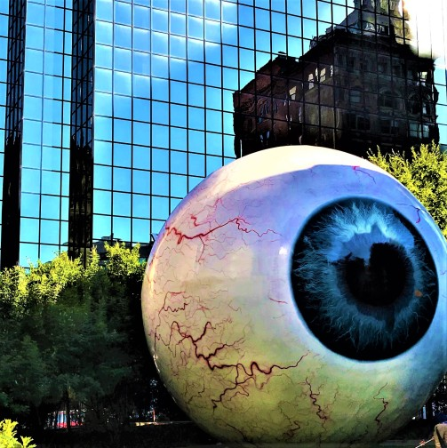 Dallas eyeball bouchercon