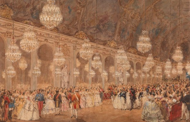 victoria albert ball at versailles royal collection trust painting