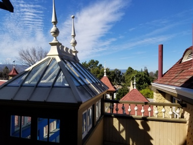 winchester mansion rooflines