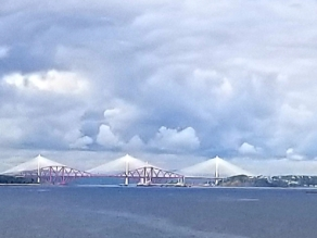 Edinburgh Forth Brideg over River Firth