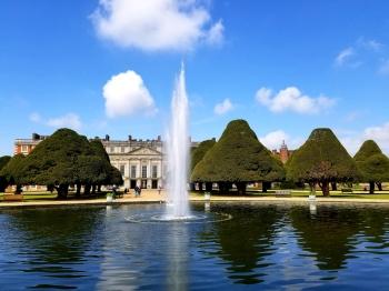 hcp main garden fountain