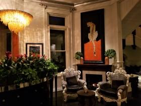 700 restaurant lobby Kessler Mansion Savannah
