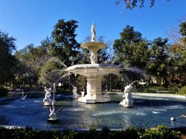 forsythe fountain savannah