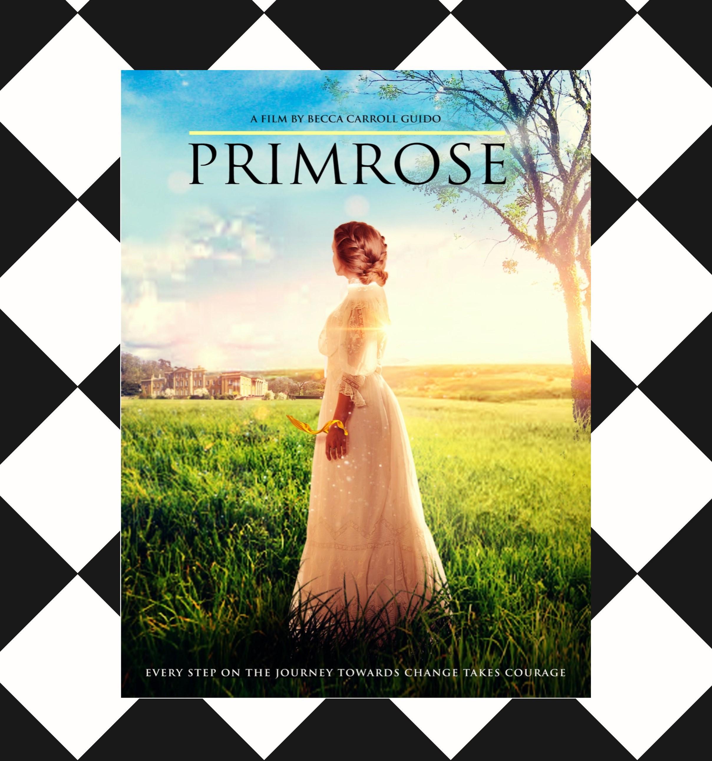 Primrose poster CheckPattern square